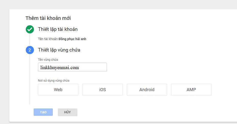 Cài đặt Google Tag ManagerCài đặt Google Tag Manager