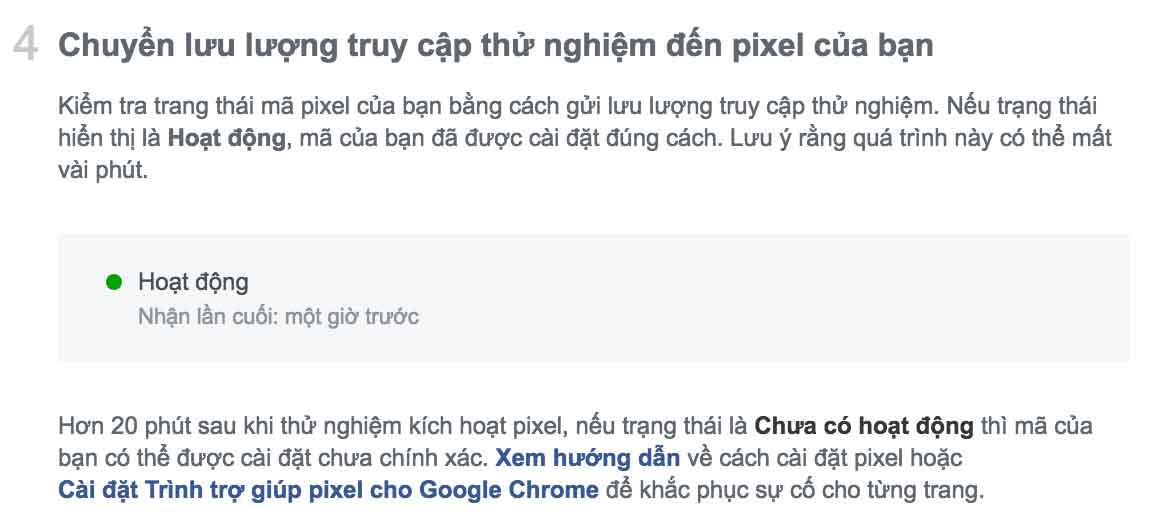 Cài Pixel facebook lên website