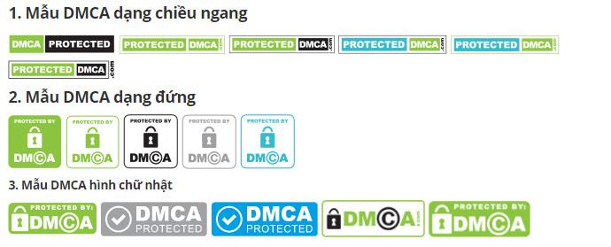 Mẫu DMCA